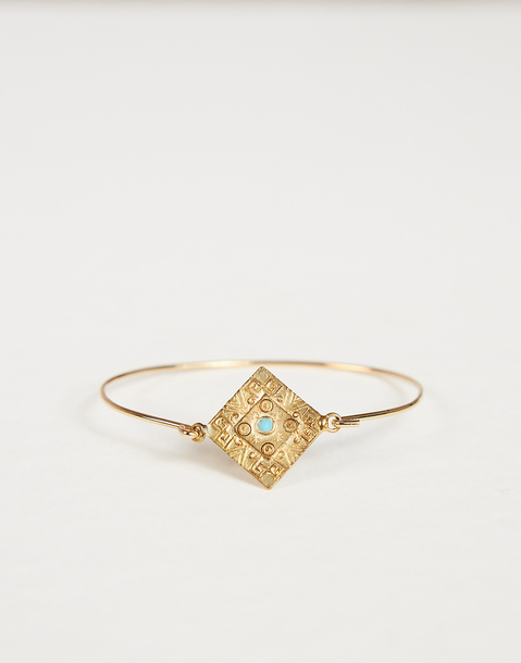 triangular ethnic bracelet