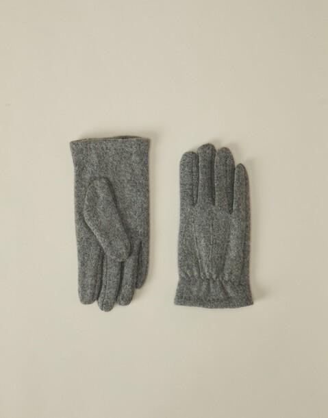 guanti uomo lana