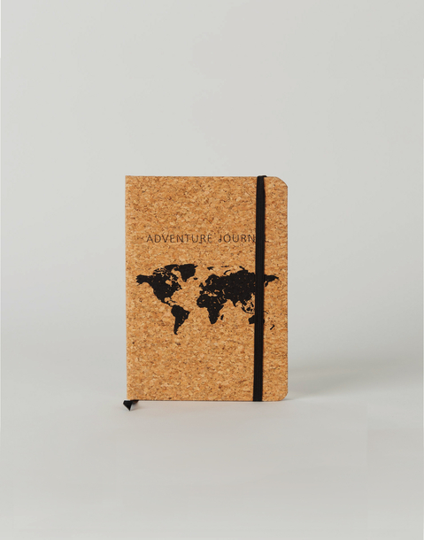 cork travel notebook