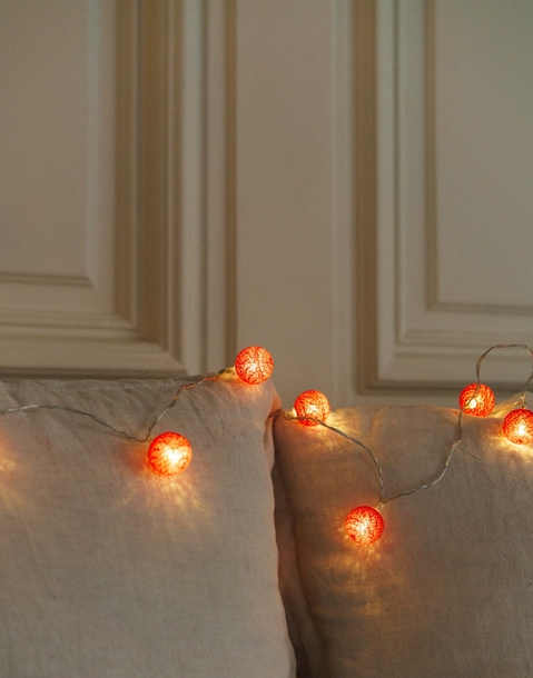 mini balloon string light