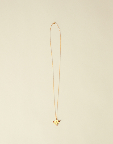 long gold medallion necklace