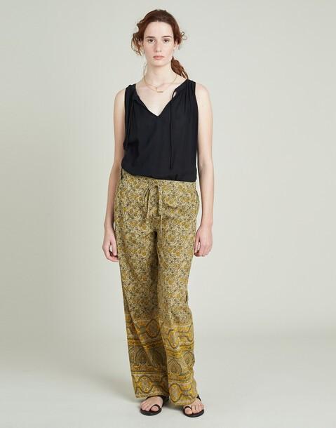 pantalón flor india