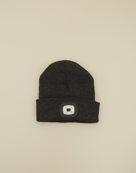 beanie with front light