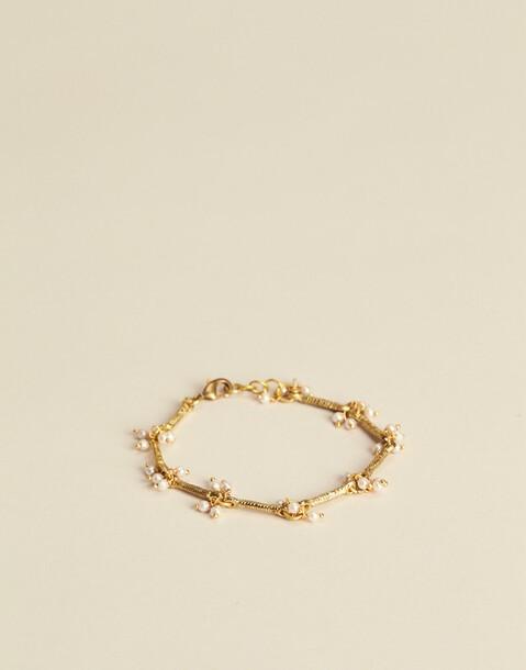 hanging pearl bracelet