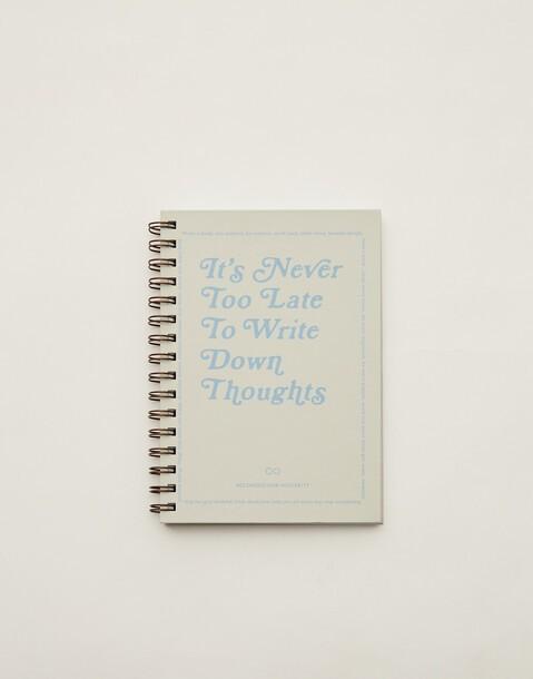 letter notebook