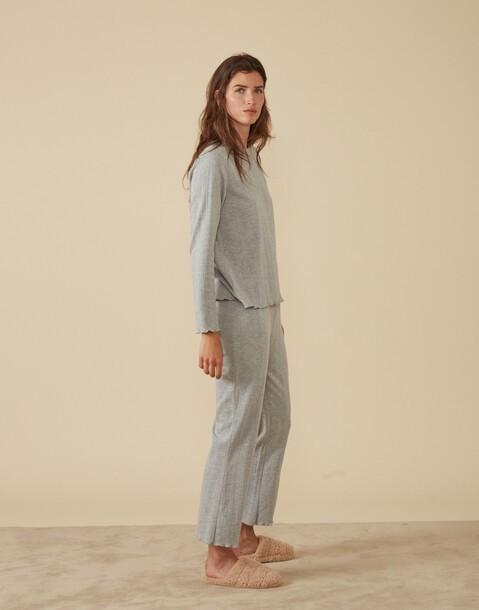 openwork homewear pants