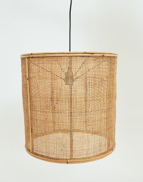 reed ceiling lamp