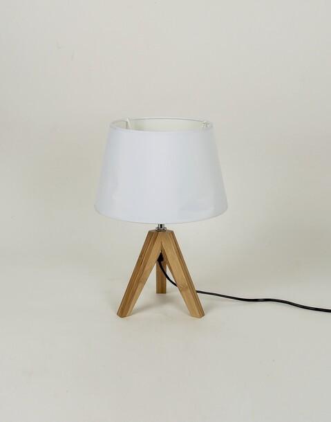 lámpara mini tripode bambú