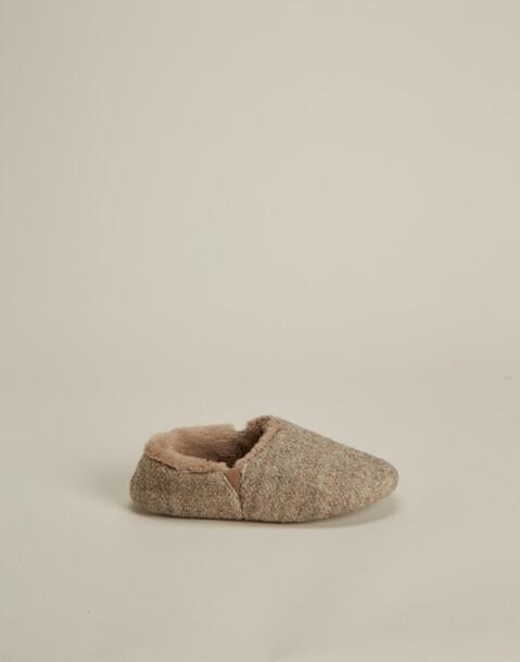 pantofole chiuse lana