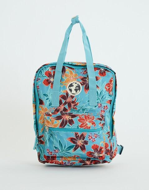 mochila estampada flower