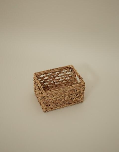 cesta caña natural pequeña