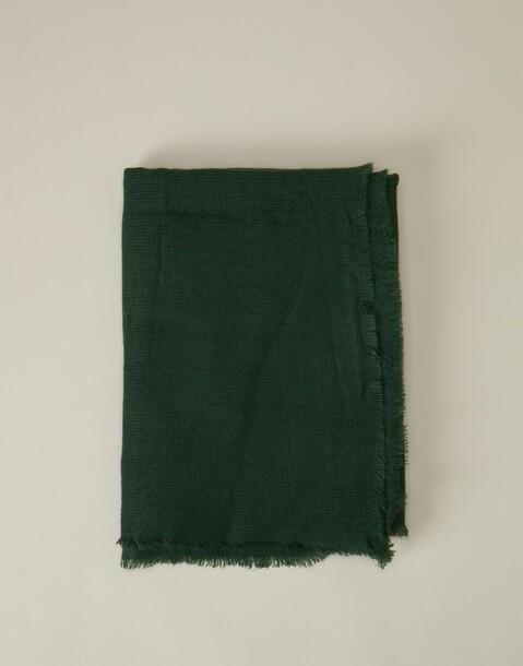 foulard moyen basique franges