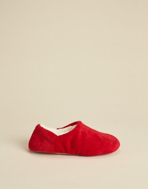 fleece lining slippers