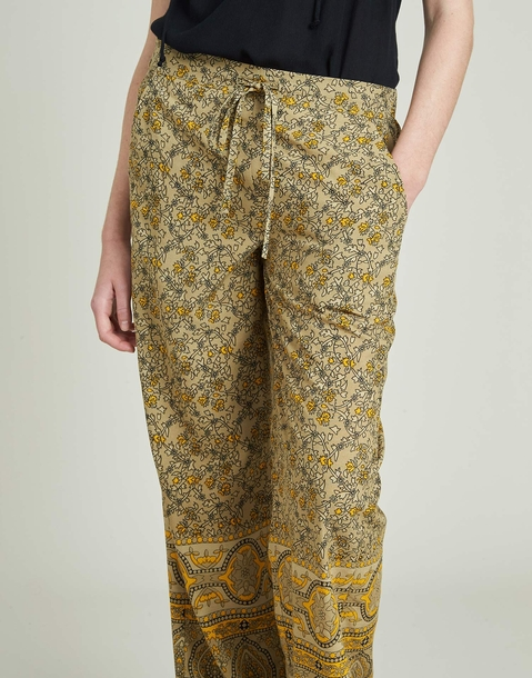 indian flower pant