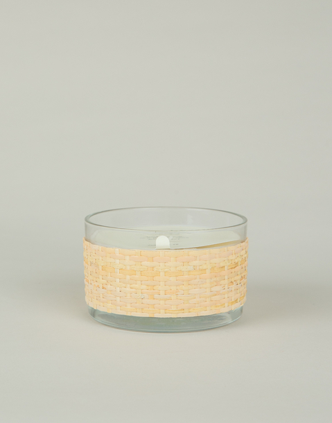 wooden cover candle