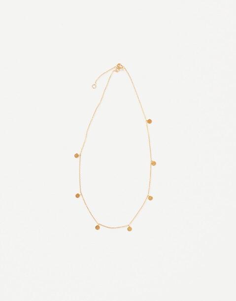 collier petits médaillons