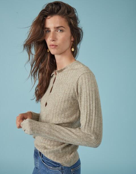 maglione tricot a costine