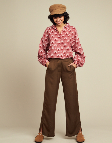 pantalon basico saten