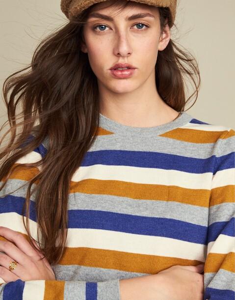 fine stripe sweater