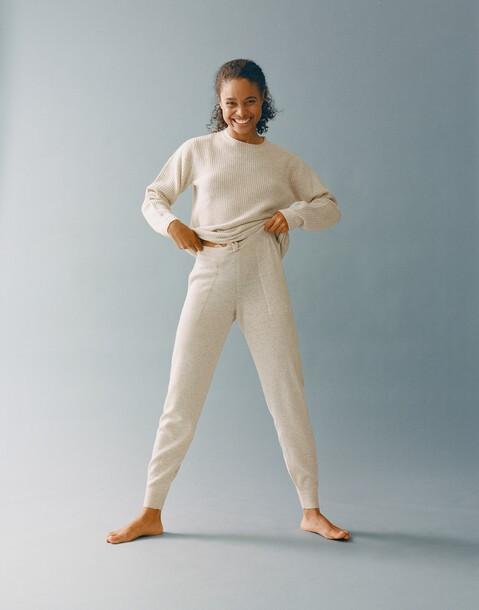 pantalon cachemire