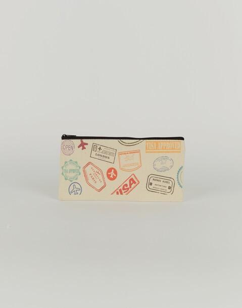 long visa pouch