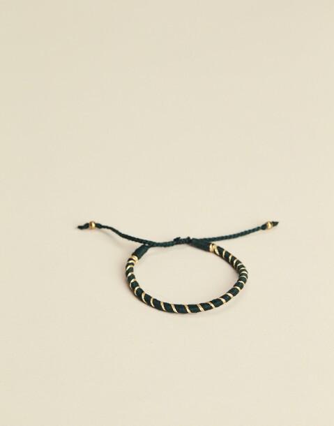 pulsera hilo espiral