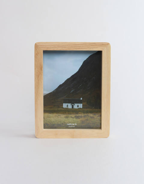 15 x 20 cm oak photo frame