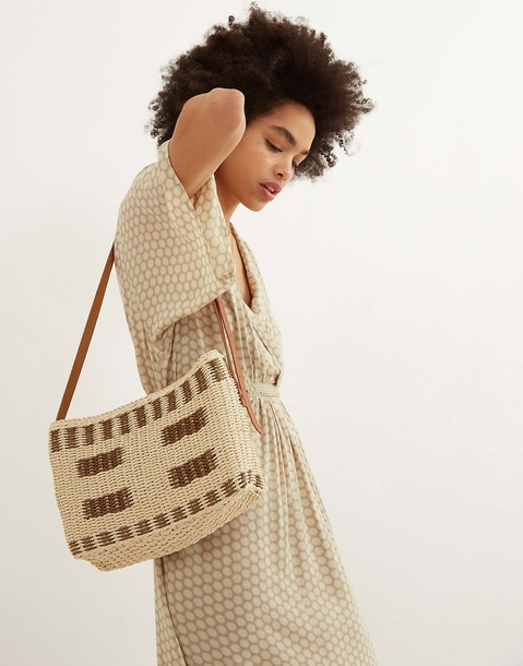 large basket crossbody bag