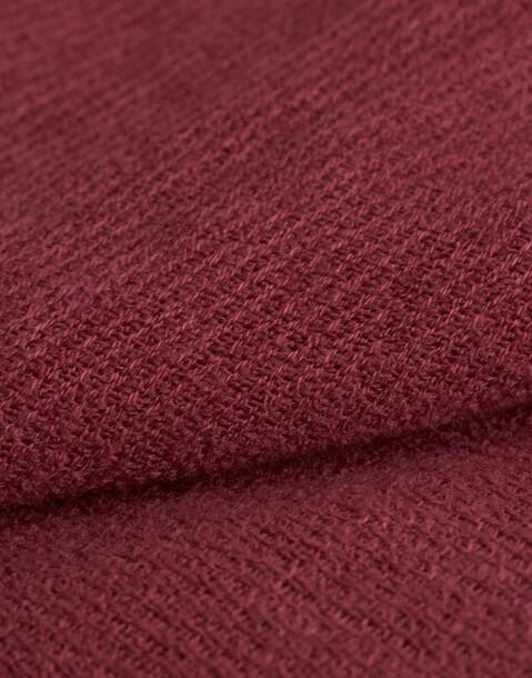 raw-cut basic foulard