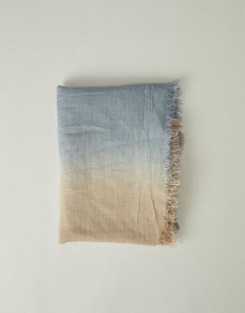 ombré wool foulard