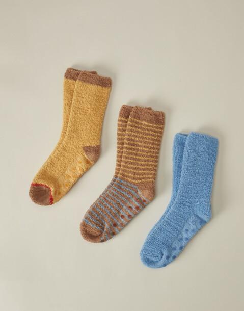fluffy socks 3 set
