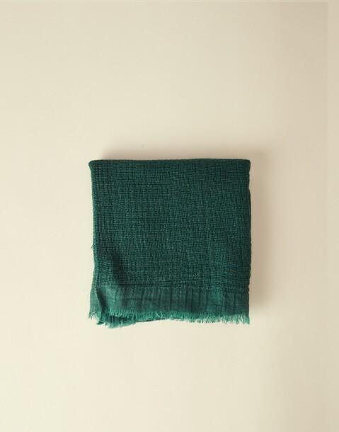 basic knitted foulard