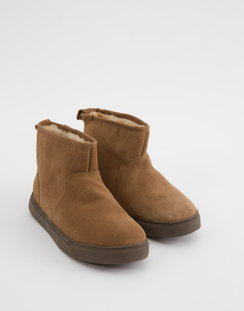 bottines cuir