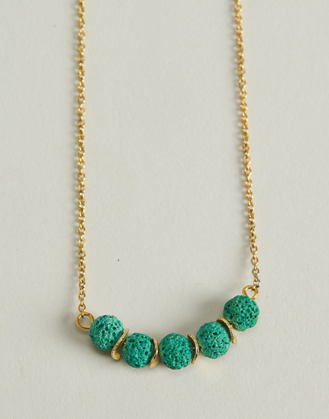 lava beads necklace