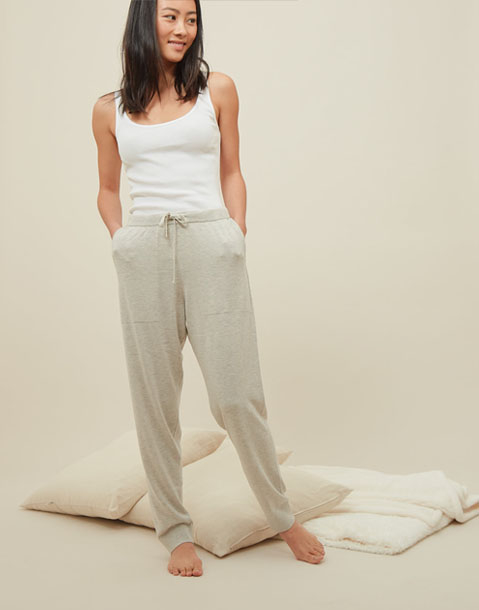 homewear ribbon pants