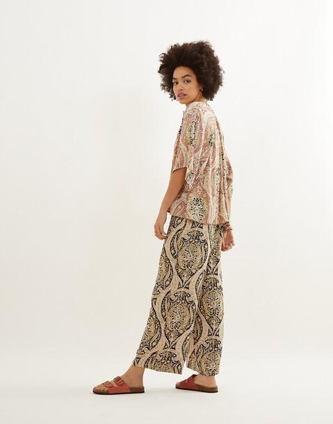 pantalon imprimé paisley