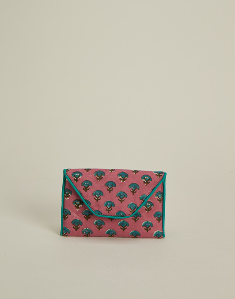 indian print wallet