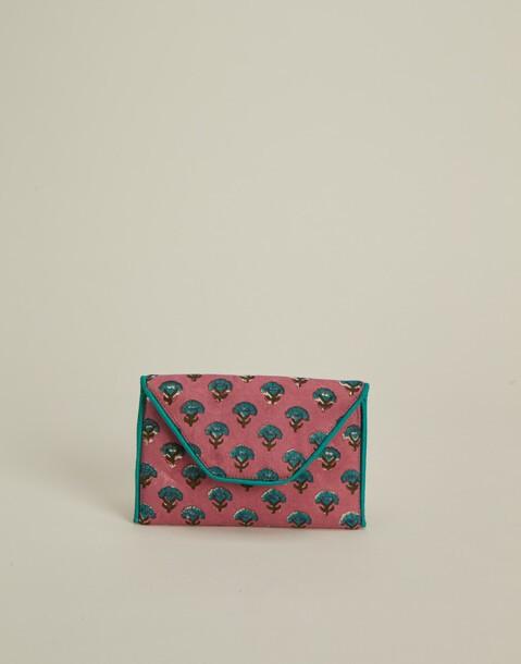 portemonnaie mit indischem aufdruck