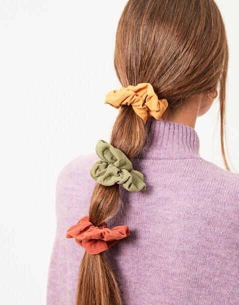 set 3 elastici per capelli