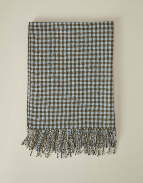 gingham scarf