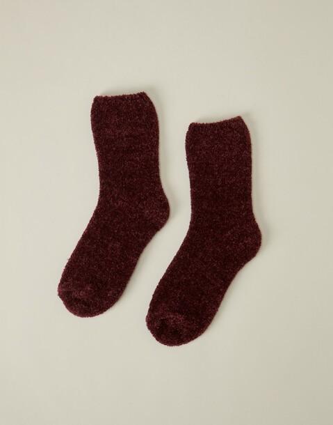 chaussettes épaisses chenille