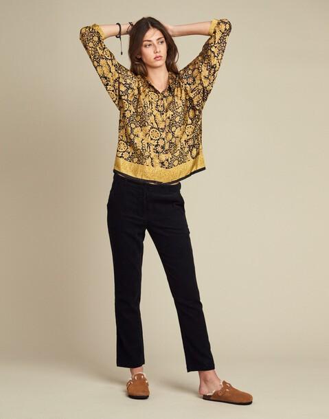 pantalón básico pana