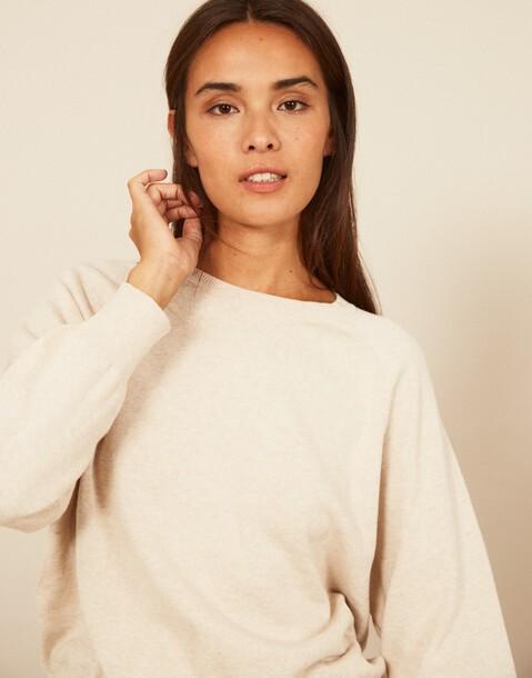 pull jersey coton biologique