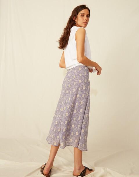 falda georgette