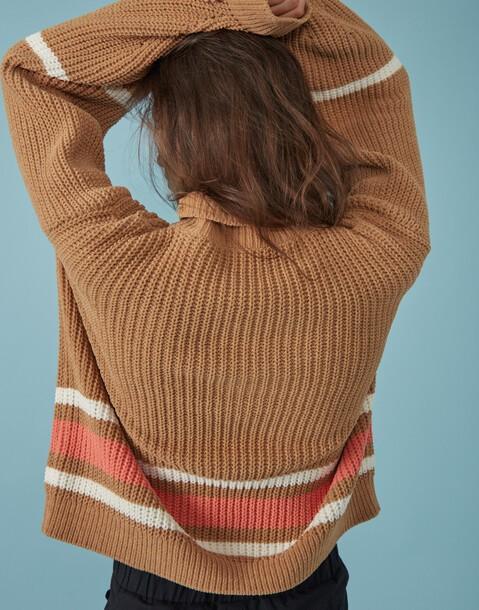 maglione ciniglia oversized
