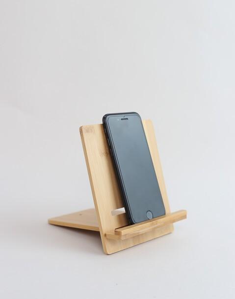 handyhalter aus bambus