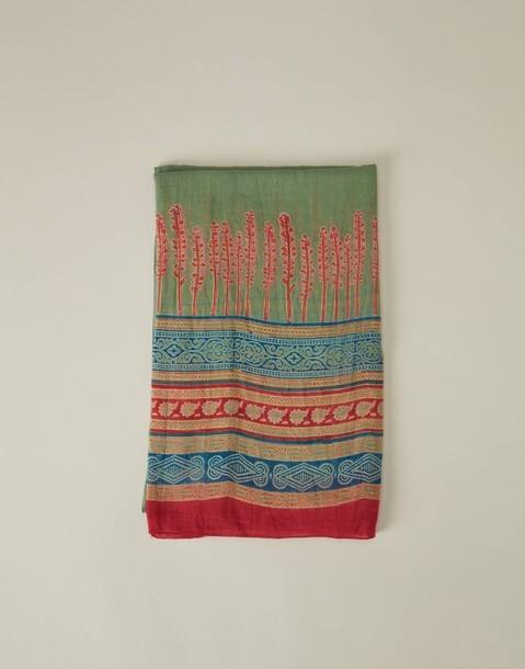 wide border foulard