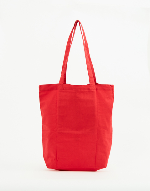 foldaway cotton tote bag