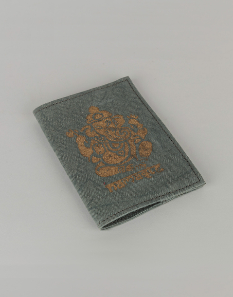 cotton passport holder