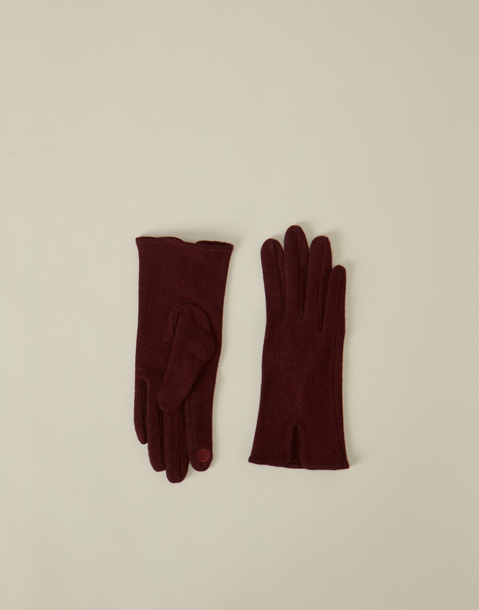 woolen tech glove